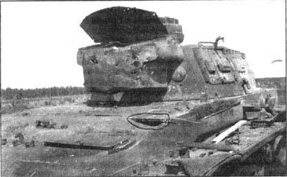 Tanques Alemanes Impactados y Destruidos