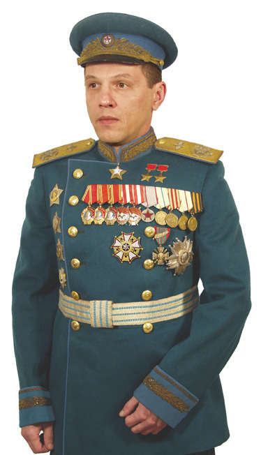 uniformes de aviadores sovieticos